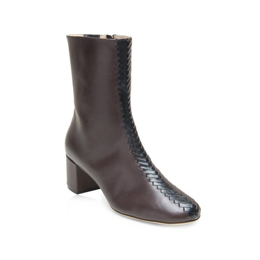 Audrey Black And Brown Boots