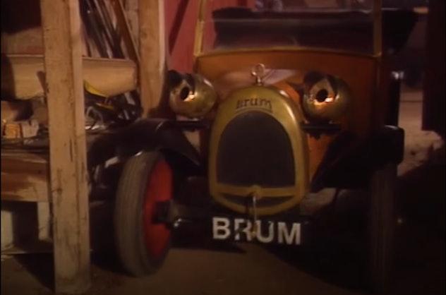Brum is a fun little car