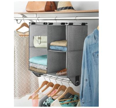 Whitmor 4-Section Fabric Closet Organizer