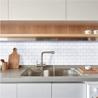 Ecoart Peel and Stick Tile Backsplash