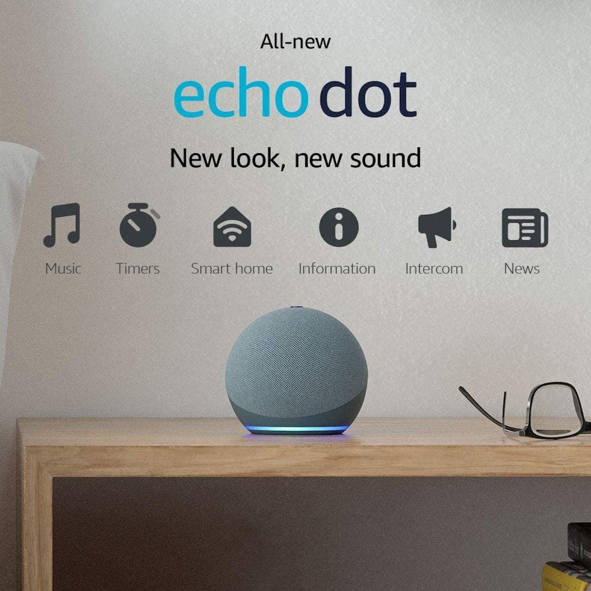 Echo Dot Smart speaker with Alexa