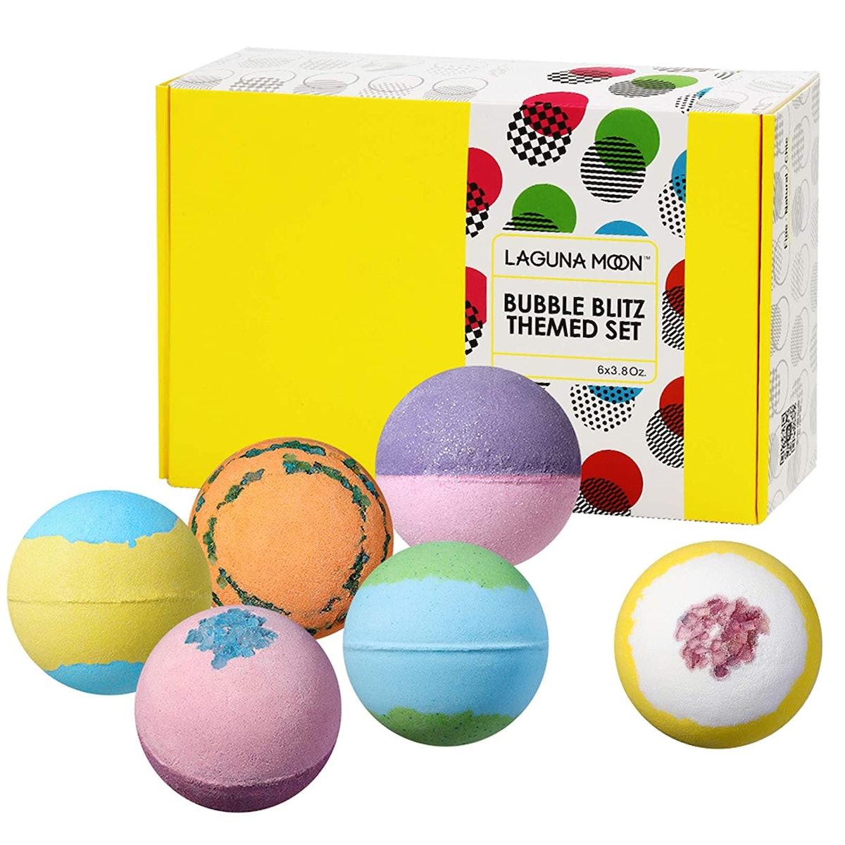 Lagunamoon Bath Bombs Set (6-Pack)