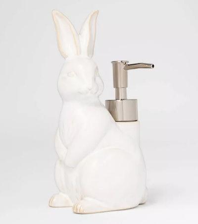 Figural Bunny Soap Pump