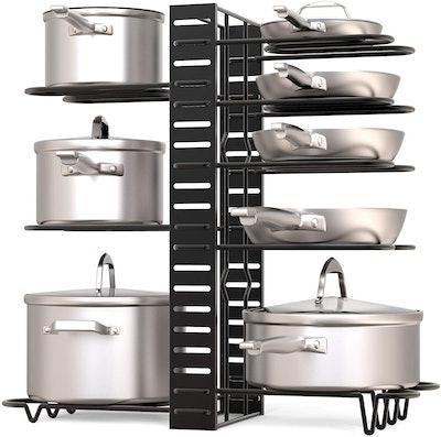 GeekDigg Pot Rack Organizer (3 DIY Methods)