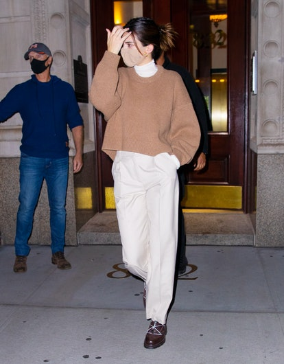 Kendall Jenner is seen on November 20, 2020 in New York City.