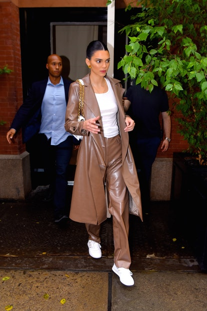 Kendall Jenner seen out and about in Manhattan on June 20, 2019 in New York City.