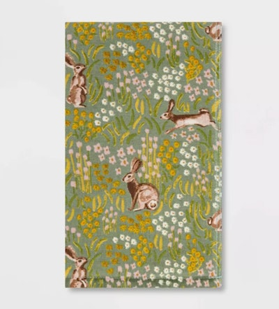 All Over Bunny Field Hand Towel