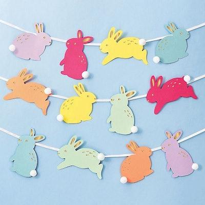 Colorful Bunny Garland Kit