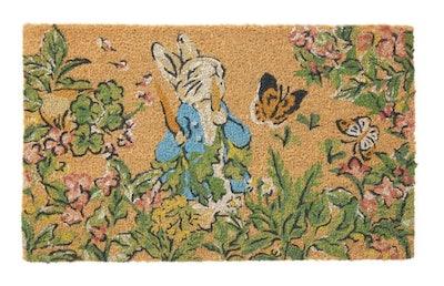 Peter Rabbit Spring Doormat