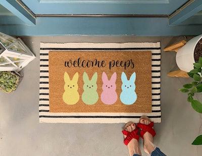 Welcome Peeps Doormat