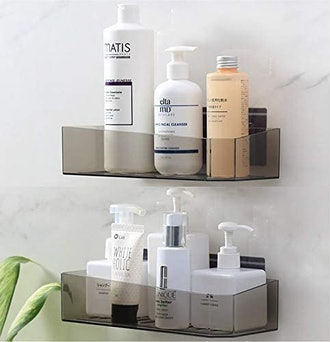 Cq acrylic Adhesive Shelf (2-Pack)
