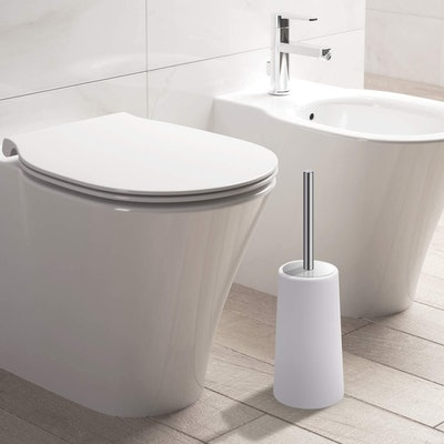 IXO Toilet Brush and Holder (2-Pack)