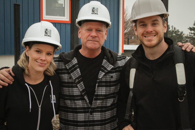 Mike, Sherry, and Mike Holmes Jr. on Holmes Family Effect via the Fox press site