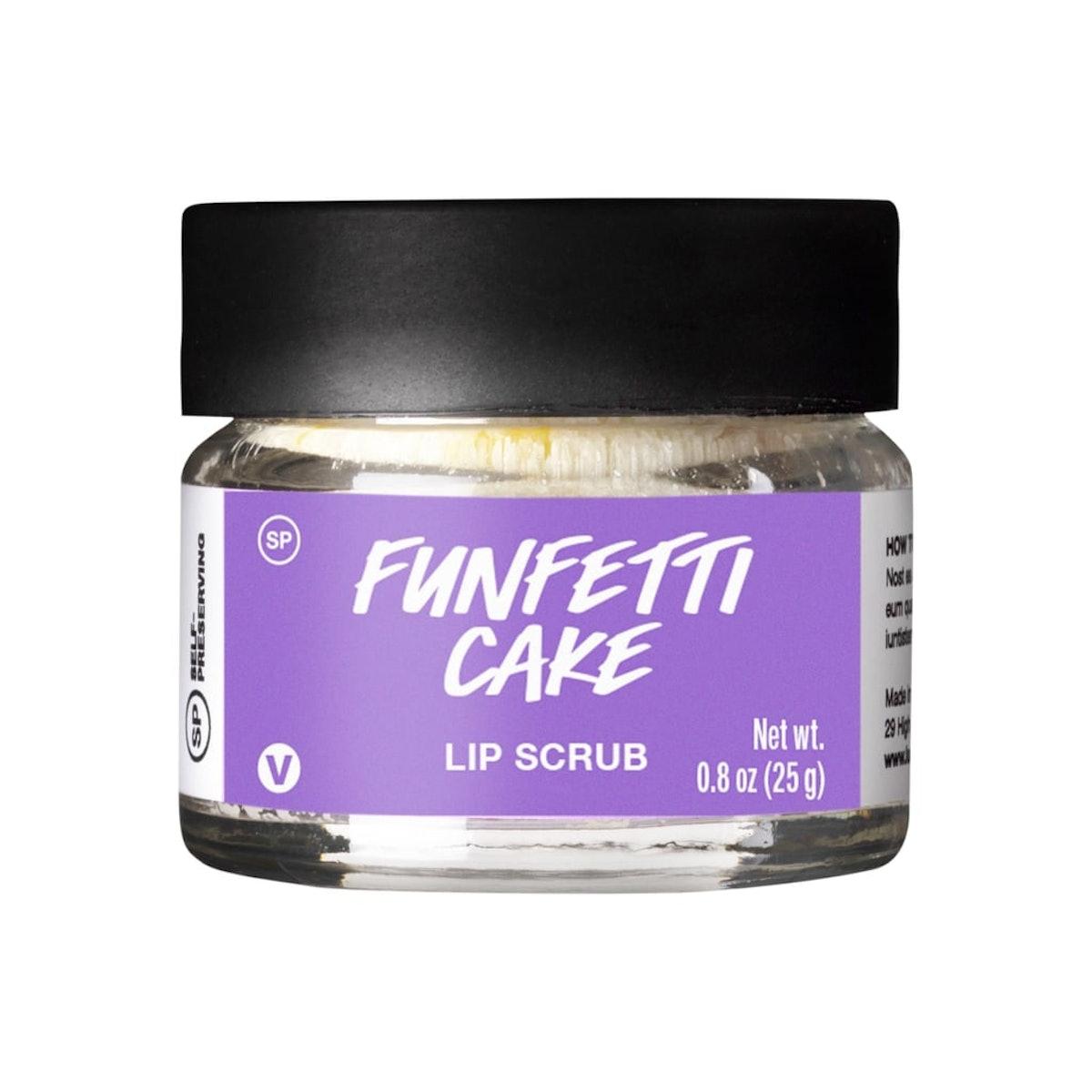 Funfetti Cake Lip Scrub