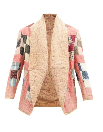Abbey Patchwork Quilted Upcycled Jacket