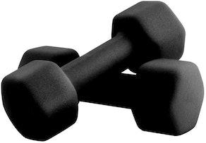 Portzon Anti-Slip Dumbell Hand Weights