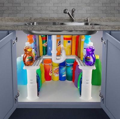 Spicy Shelf Expandable Under Sink Organizer and Storage