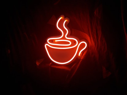Coffee Neon Sign Bar Decoration