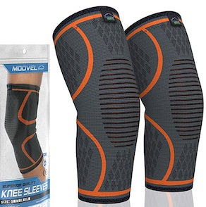 Modvel Knee Compression Sleeves (2 Pack)