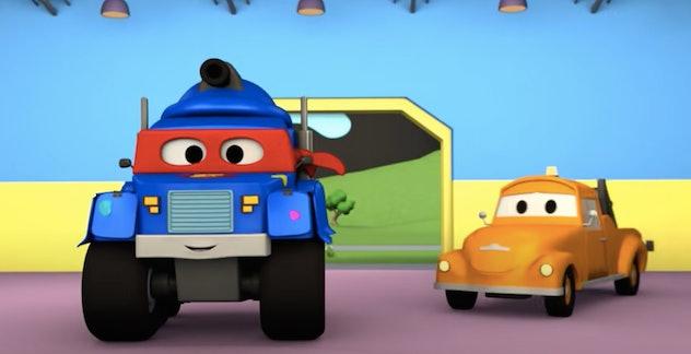 Carl is a Super Truck