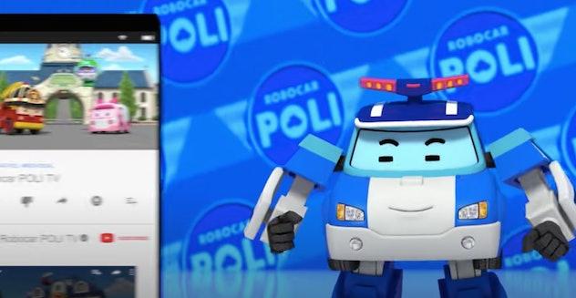 Robocar Poli saves the day