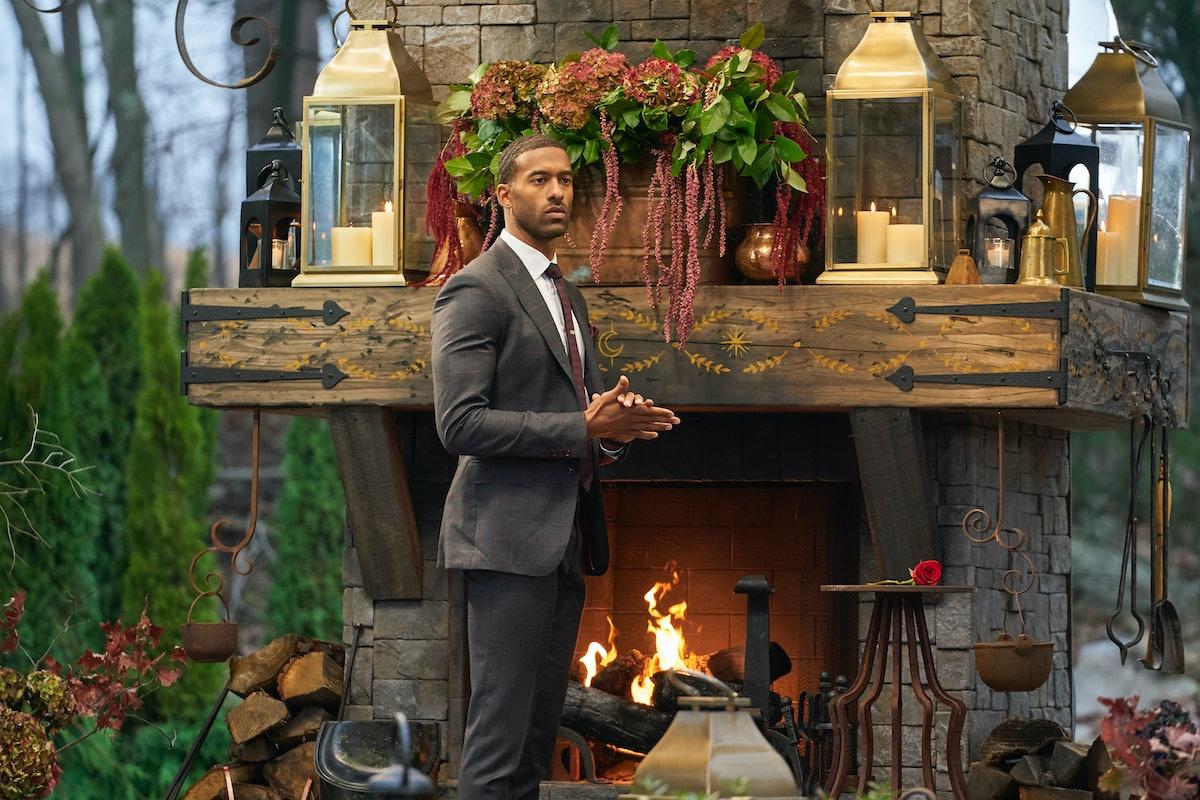 Matt James in The Bachelor.