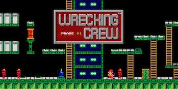 wrecking crew nes mario retro switch online