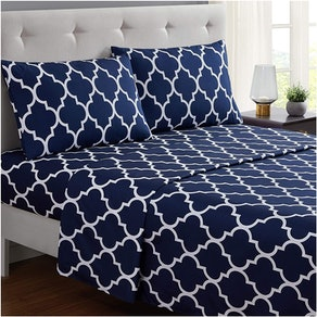 Mellanni Bed Sheet Set (4-Piece Set)