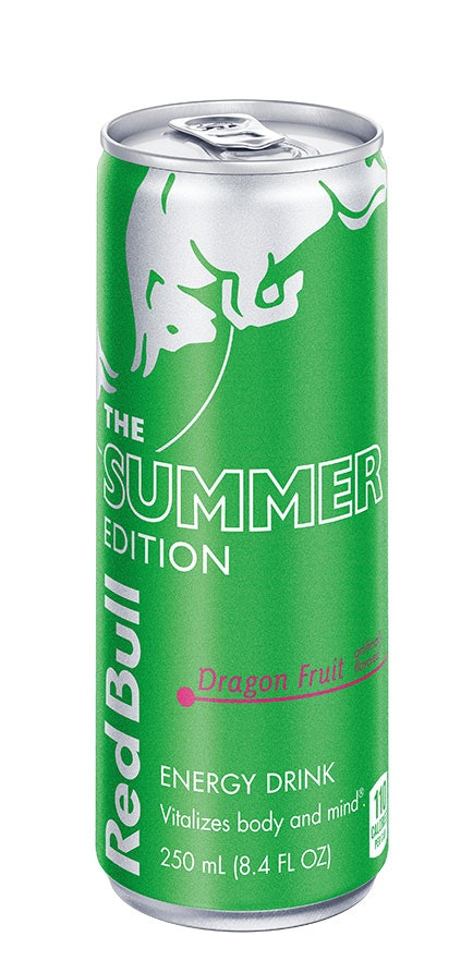 Red Bull's Summer Edition 2021 Flavor, Dragon Fruit,  is a sip with a tropical twist.