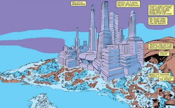 Madripoor in the Marvel Comics
