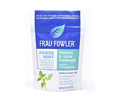 Frau Fowler POWER MINT Tooth Powder