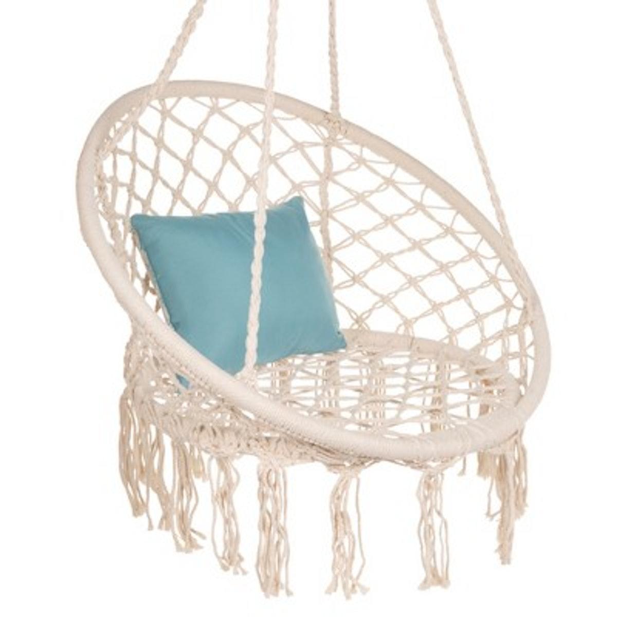 Macramé Hammock Hanging Chair Swing