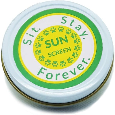 SIT. STAY. FOREVER. SAFETY FIRST Sunscreen and Moisturizer, 2 Oz.