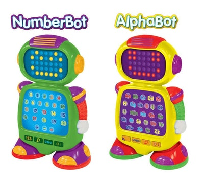 The Learning Journey: Alphabot and Numberbot, 2-pack
