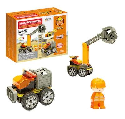 Magformers Construction Set, 50-piece