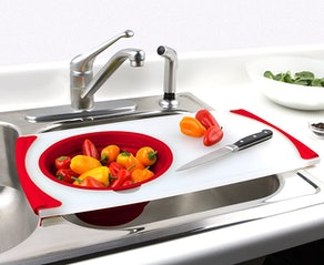 Dexas Over-the-Sink-Strainer Board