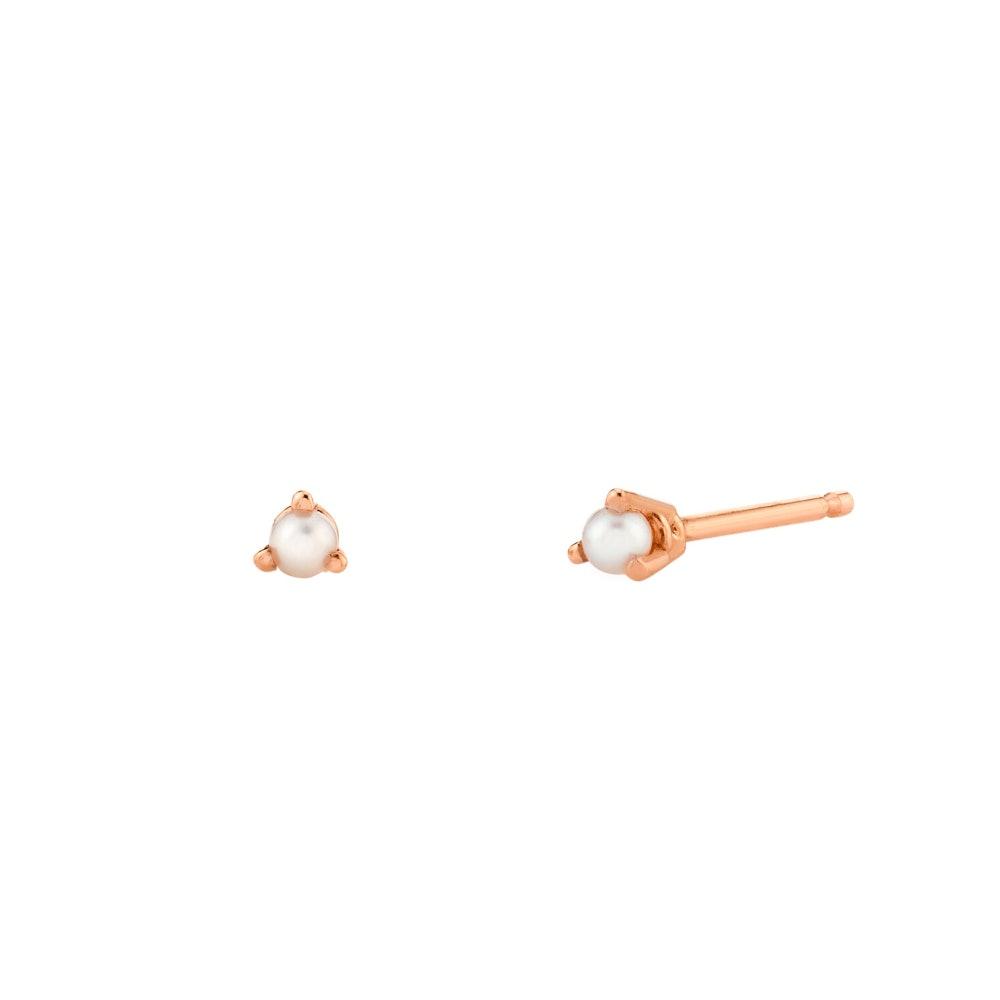 Dainty Pearl Stud Earrings