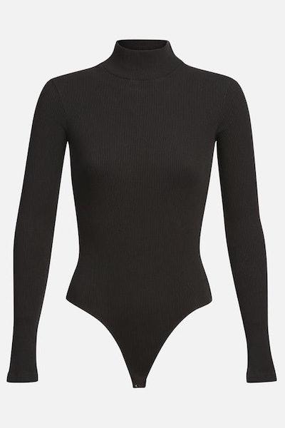 Turtleneck Long Sleeve Bodysuit