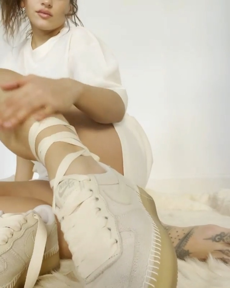 Rosalia x Nike espadrille Air Force 1
