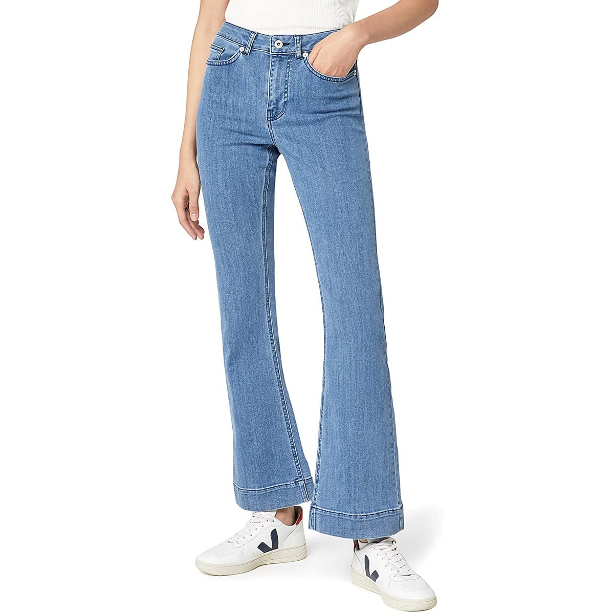 find. High-Rise Flare Jeans
