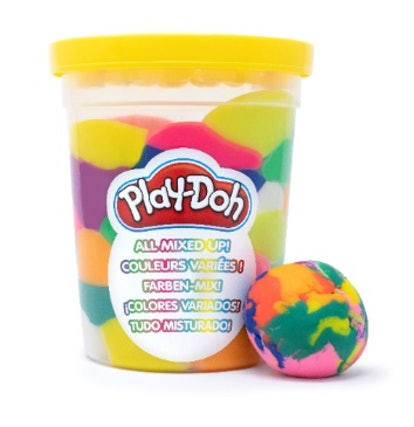 Kids can now get their Play-Doh pre-mixed.