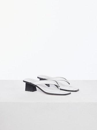 Le Carbon Sandal Blanc