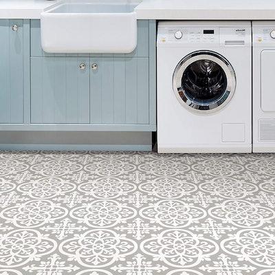 FloorPops Medina Peel-and-Stick Floor Tiles (10 Count)