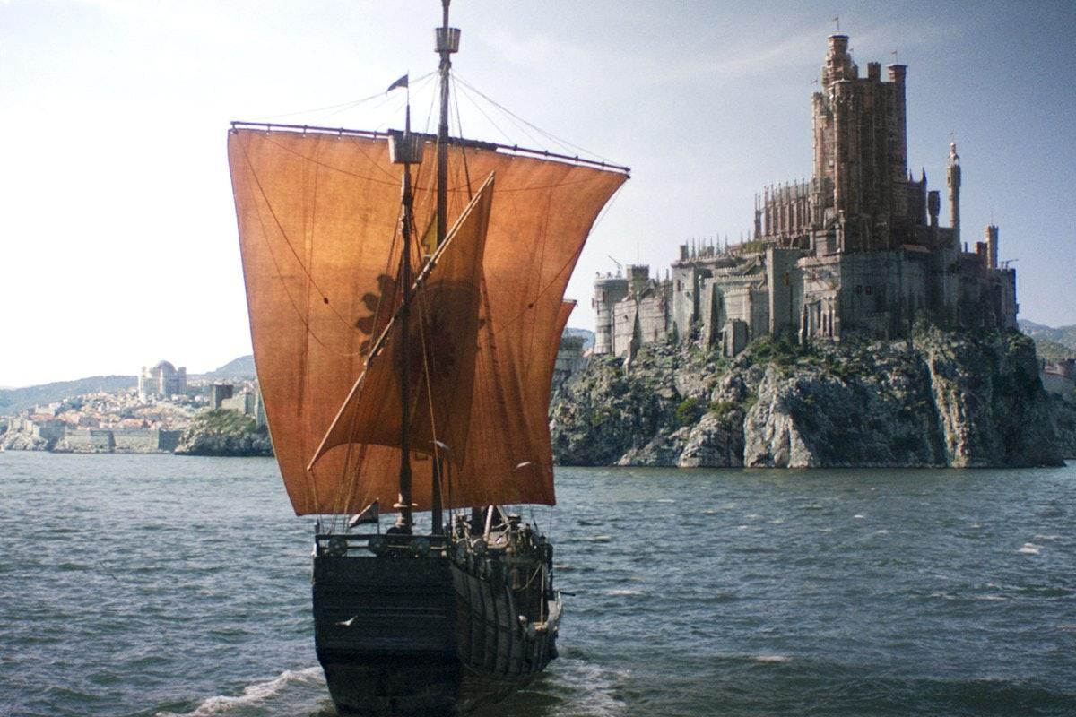 King's Landing in the Crownlands In Game of Thrones