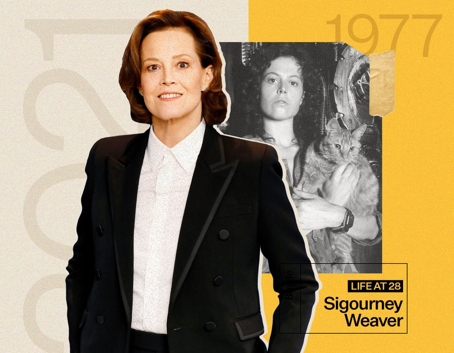 Sigourney Weaver discusses 'Alien' and life at 28.