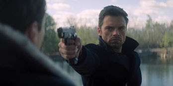 Sebastian Stan as Bucky Barnes in Marvel's The Falcon and the Winter Soldier