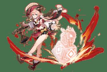 Yanfei Genshin Impact Splash Art Mihoyo Version 1.5 leak