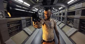 Sci-fi prison break movie netflix lockout