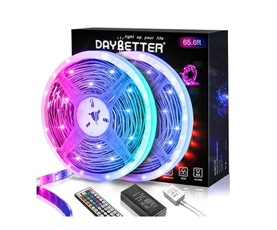 Daybetter Flexible Color Changing Remote Control Led Strip Lights