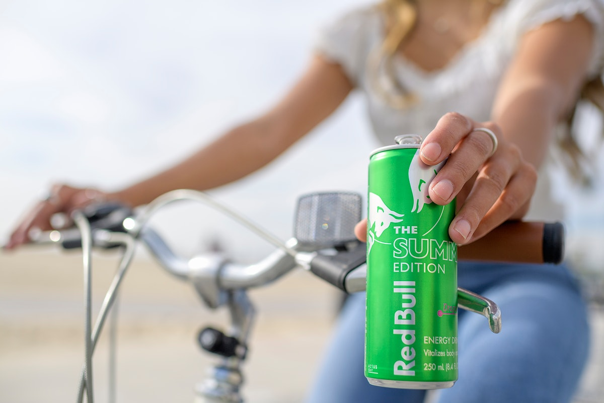 Red Bull's Summer Edition 2021 flavor, Dragonfruit, is a tropical pick-me-up.